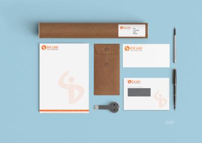 InCuSe – Logo en huisstijl ontwerp