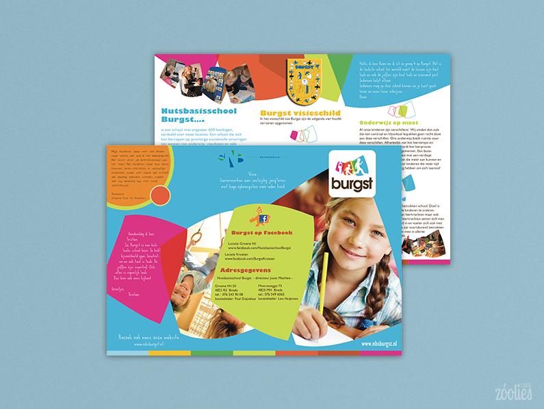 Nutsbasisschool Burgst – folder