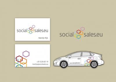 Social Sales logo en huisstijl