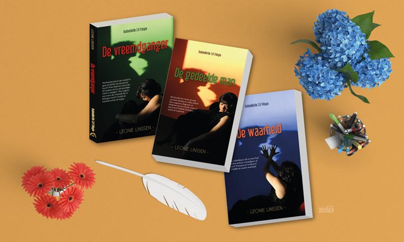 Boek covers – Dubbelliefde 3.0 Trilogie
