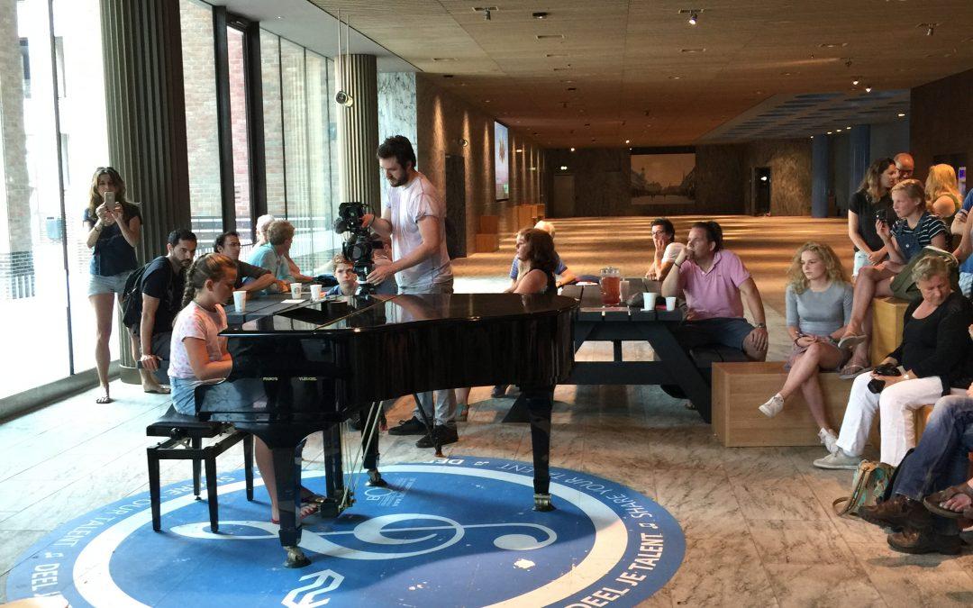 Piano audities voor opening station Breda