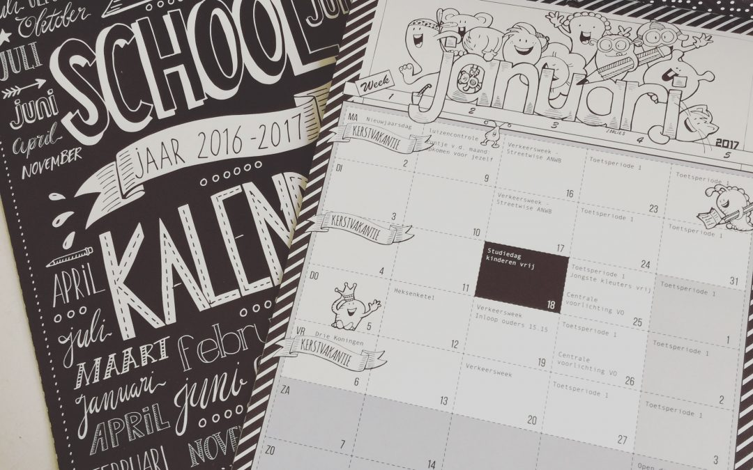 Schoolkalender basisschool Burgst