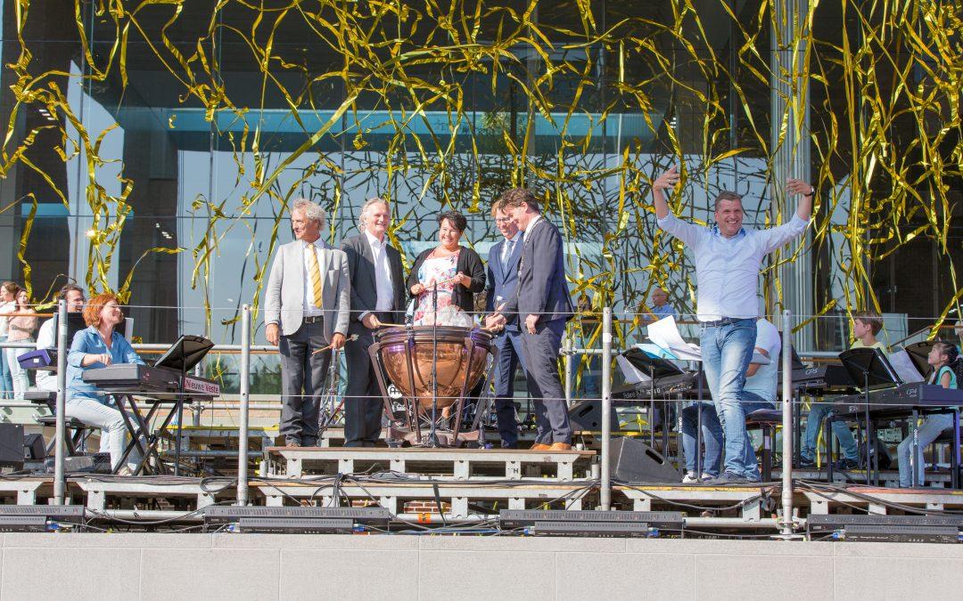 Officiële opening station Breda oud
