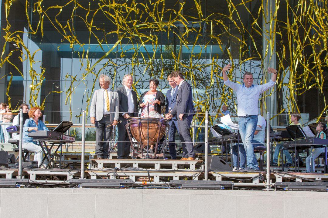 Officiële opening station Breda