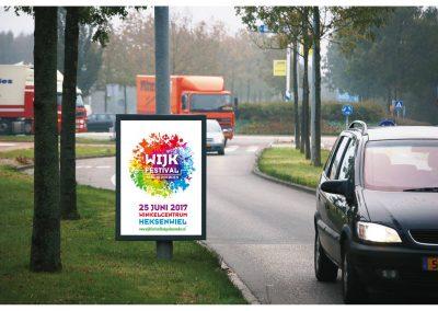 Wijkfestival Haagse Beemden logo en huisstijl