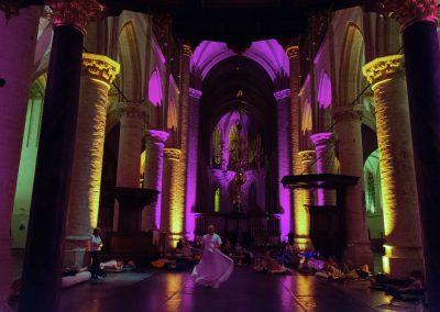 MonumentenNACHT 2018 Slapen in de Grote Kerk Breda. Foto: Danny Touw